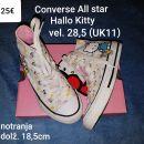 Superge Converse All star Hallo Kitty vel. 28,5 (UK11)