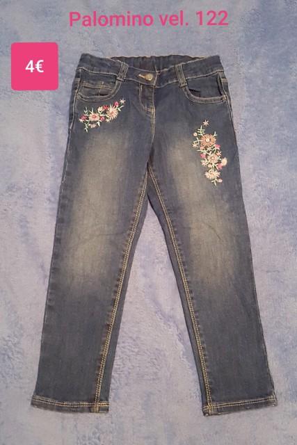 Jeans hlače Palomino z našitki vel. 122