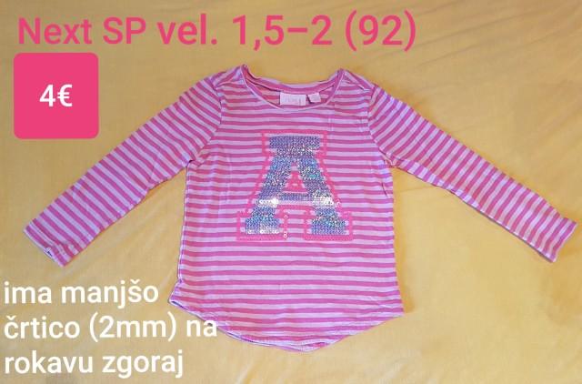 Majica Next vel. 1,5-2 (92)