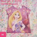 Next majčka kratek rokav Disney Princess vel. 2-3 (98)