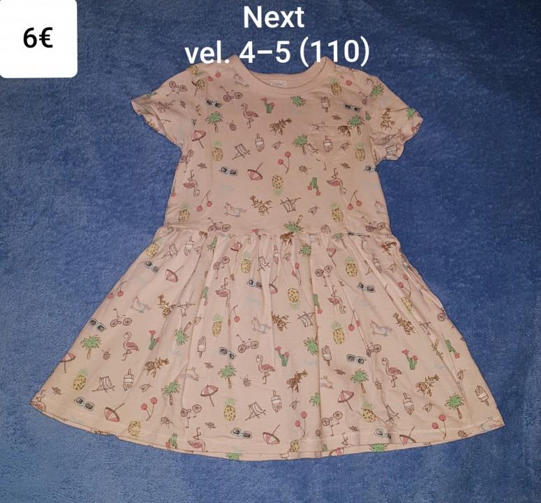 Oblekica - tunika Next vel. 4-5 (110)