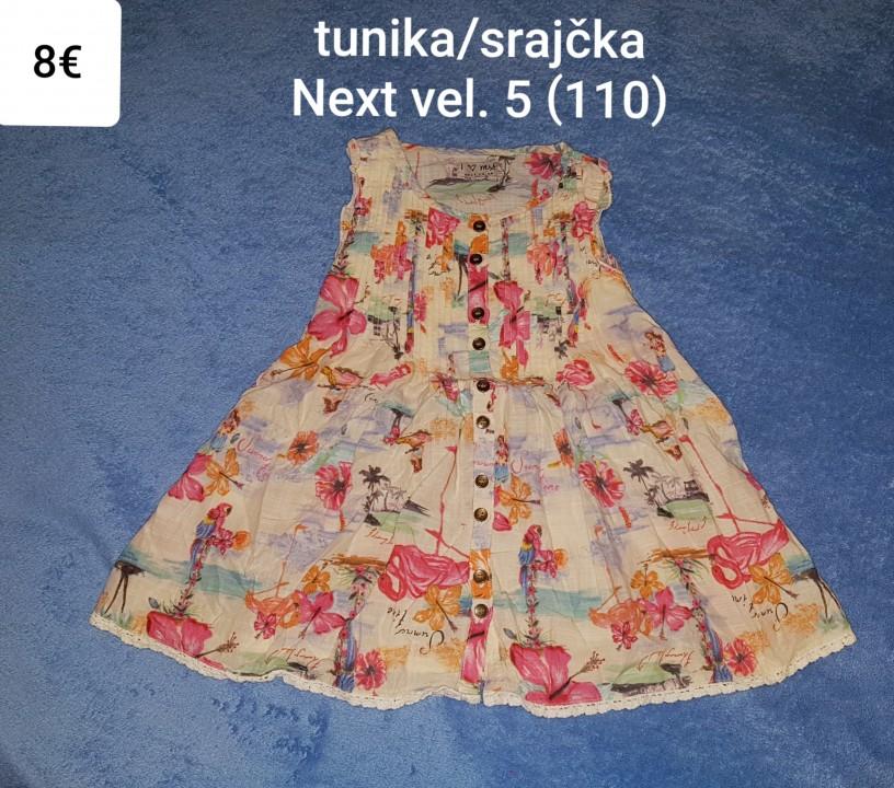 Tunika - srajčka Next vel. 5 (110)