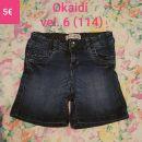 Kratke jeans hlace Okaidi vel. 6 (114)