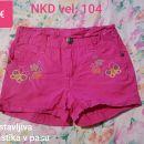 Kratke hlače NKD vel. 104