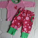 Pižama 56, nosljiva dlje, več nošena, 1.5 eur; lahko se nosi tudi čez dan :)