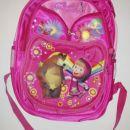 Nova šolska torba maša in medved **