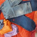 hlače 74/80 (kavbojke, trenirke)