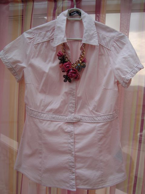 Flame roza bluzica, št.38/40 - foto
