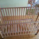 Otroška postelja Sadeko Medo natur 128*63