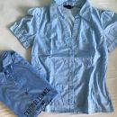 Ženska majica kratki rokav hm Št.38 1+1 gr.