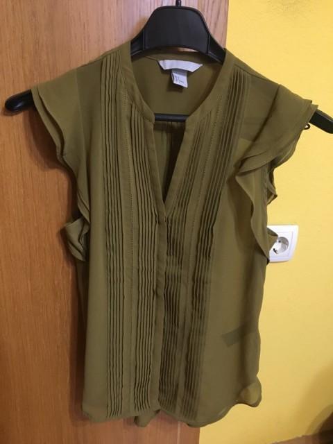 ženska srajca s kratkimi rokavi