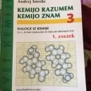 Delovni zvezek za kemijo 3, 1.del