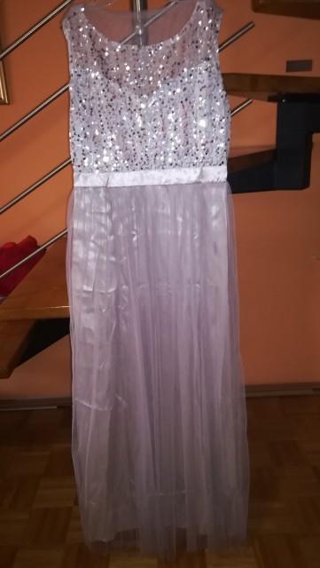 Nova obleka dolga L , 20 eur s ptt - foto