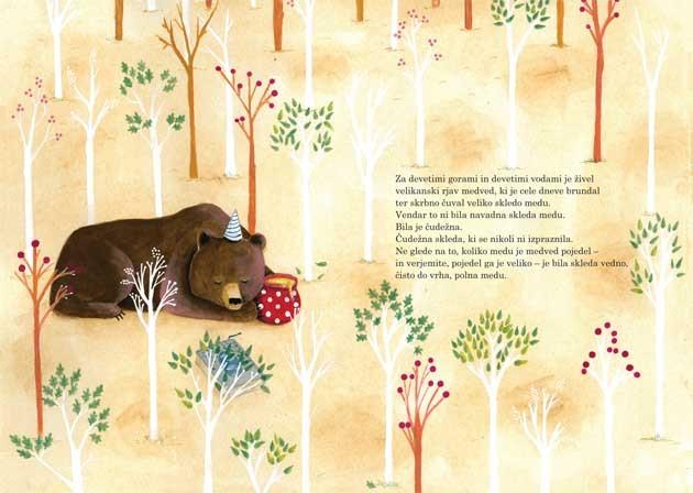 Slovenski ilustratorji -Živa Viviana Doria: Medved (Slovenian illustrators)