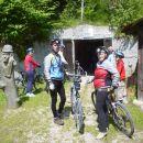 Vstop v rudnik Mežica s kolesom