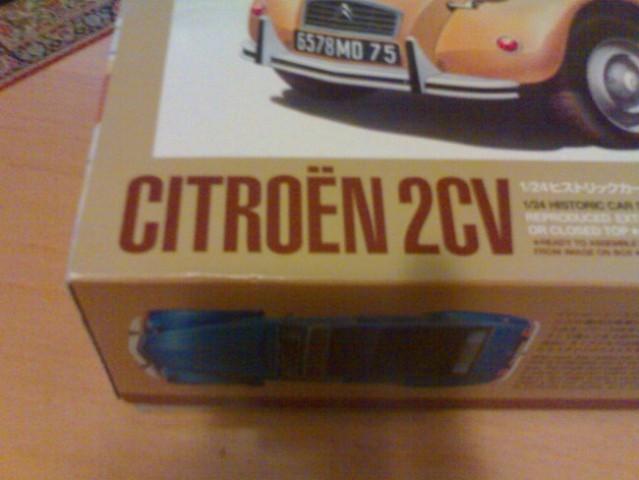 1/24 tamiya citroen 2cv - spaček - foto