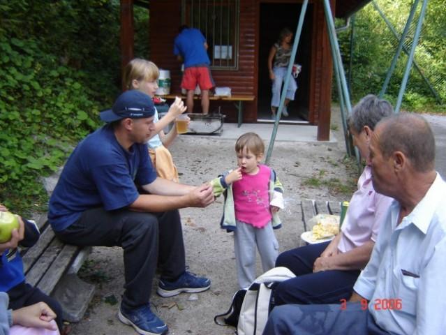 POTEPANJE V HRIBIH - ŠPIK 2006 - foto