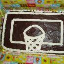 čokoladna torta za malega košarkarskega navdušenca