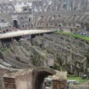 Notranjost Flavijskega Amfiteatra