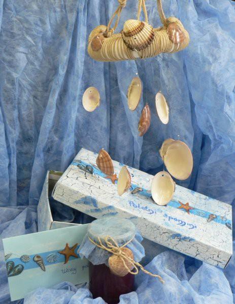 Od kaje75 za nitty: mobile iz školjk iz Krka, osvežilna domača ribezova marmelada in škatl