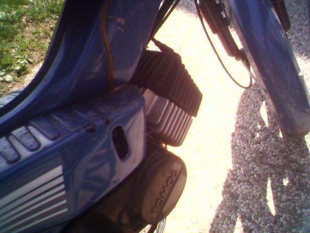Od anžela stroj (moped kit)