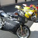 MV Augusta F4 1000S, Ducati 996, Cagiva Mito 125