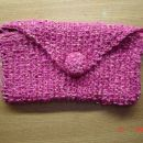 dobila od petrovke....za swap Toplo, toplo naj ti bo...torbica v roza:)))