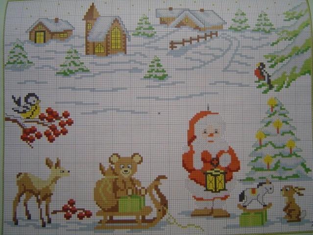 Novoletno-božični motivi - foto