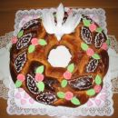 Ta lep kolač je pa mama naredila sestrični za birmo