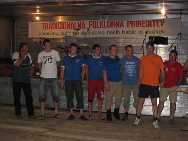 Večer ob Grajskem vrelcu, 12. julija 2008 - foto
