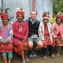 Picture with local people
