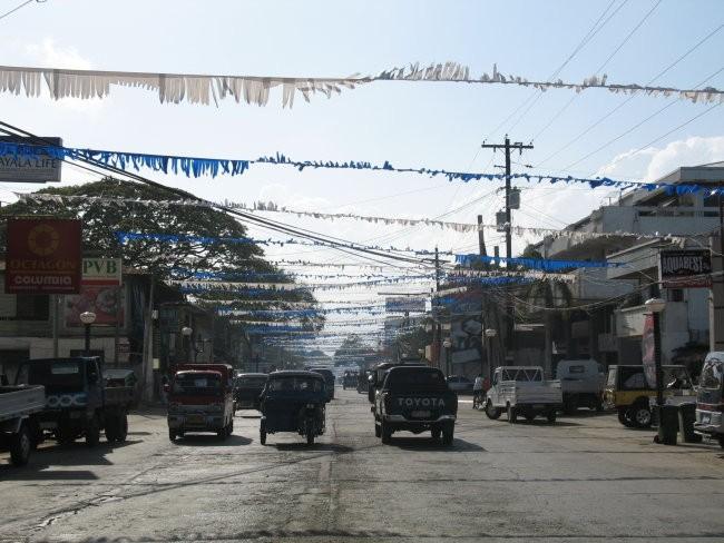 Puerto Princesa on Palawan island
