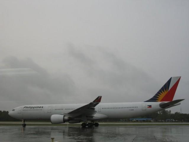My flight to Philippines