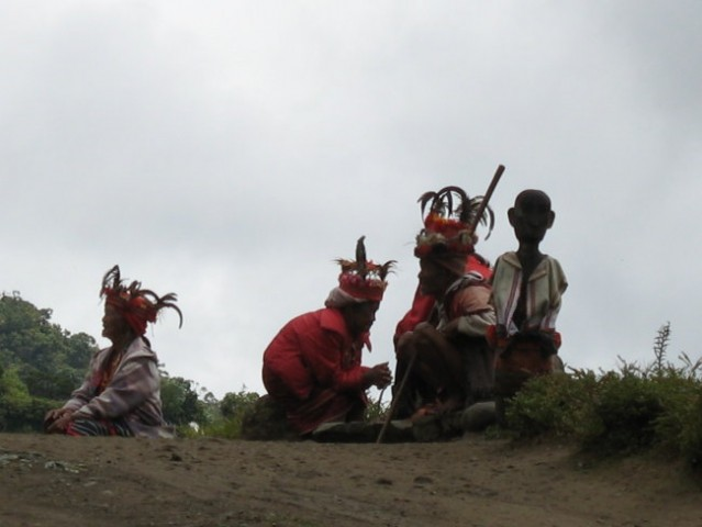 Local people in the Philippines