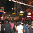 Kao Sanh Road in the night
