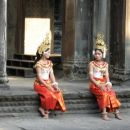 Traditional Cambodian girls