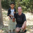 Little cambodian girl with me