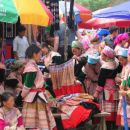 Hmong's colourful market in Bac Ha