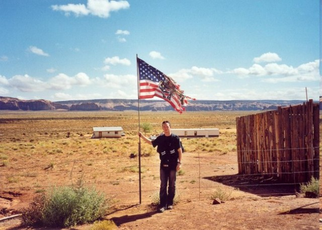 In the Navajo Indian's Reservation