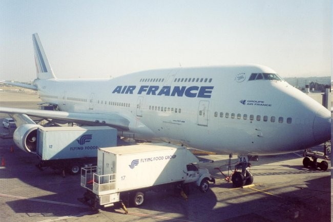 The Boeing 747-400
