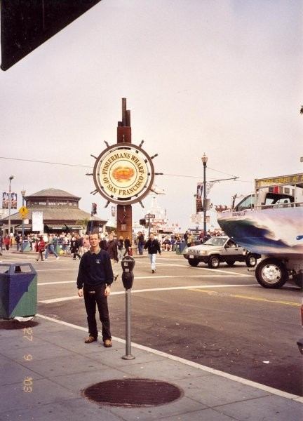 Me in Fisherman's Wharf in San Francisco