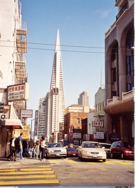 The Transamerica Pyramid is the tallest and most recognizable skyscraper in the San Franci
