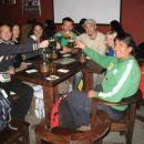 We drink color Colombian beer