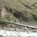 Bridge over the river Urubamba