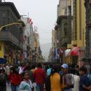 The main street in Lima