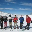 Skiing with my friends in Valle Nevado