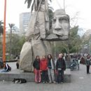With my friends on the Plaza de armas