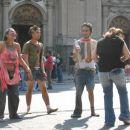 Street life in Santiago de Chile