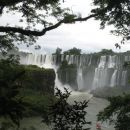 The falls are part of a virgin jungle ecosystem, protected by Argentinian and Brazilian na