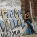 Argentinian girl on the street